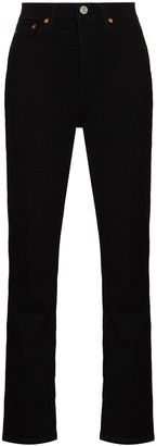 RE/DONE 80s Straight-Leg Jeans