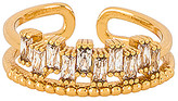 Ettika Rhinestone Stacked Ring