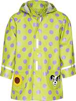 Playshoes Dots Waterproof Girl's Rain Coat 6-12 Months