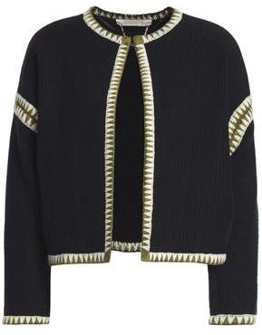 Vanessa Bruno Embroidered Wool Jacket