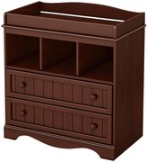 South Shore Savannah Collection Changing Table- Royal Cherry