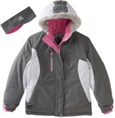 ZeroXposur Girls 7-16 Katia Colorblock Heavyweight Snowboard Jacket