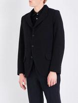 Comme des Garcons Forever regular-fit wool-blend jacket