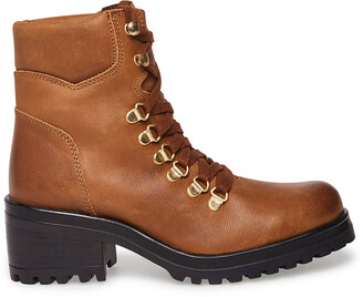 Steve Madden Galway Cognac Leather