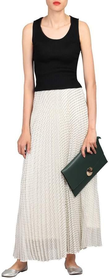Dorothy Perkins Womens *Jolie Moi Cream Black Dot Maxi Skirt