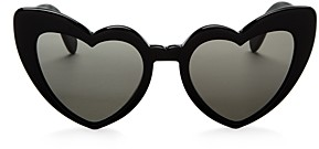 Saint Laurent Women's Lou Lou Heart Sunglasses, 53mm