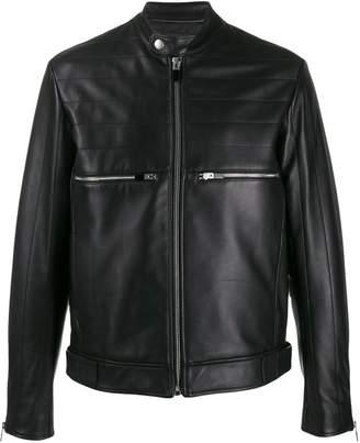 Just Cavalli slim-fit biker jacket