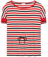 Moncler Striped cotton top