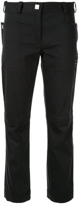 Chanel Pre Owned Sports Line slim-fit cropped trousers