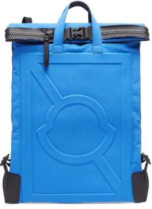 5 Moncler Craig Green - Logo-embossed Technical Backpack - Blue
