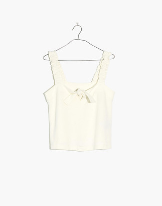 Madewell Tie-Front Tank Top