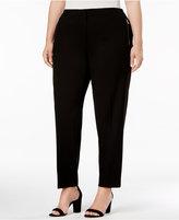 Calvin Klein Plus Size Tapered-Leg Pants