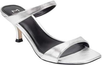 Marc Fisher Genia Patent Slide Sandals