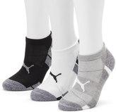 Puma Women's 3-pk. Cushioned Low-Cut Socks