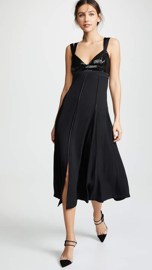 Jason Wu Sequin Bustier Maxi Dress