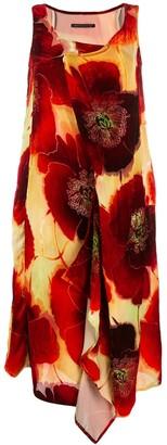 Yohji Yamamoto Draped Shift Dress