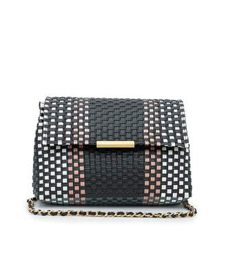 Ted Baker Woven Clutch Colour: BLACK, Size: One Size