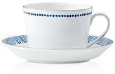 Monique Lhuillier Waterford Malibu Azure Teacup & Saucer