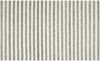 One Kings Lane Anyu Flat-Weave Rug - Gray - gray/ivory
