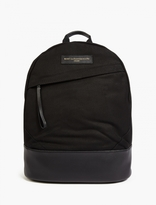 WANT Les Essentiels Black Organic Cotton 'Kastrup' Backpack