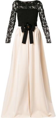 Gucci Two-Tone Lace Dress