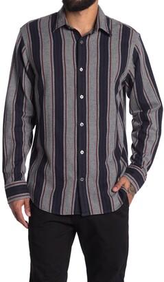 NN07 Errico Stripe Print Regular Fit Shirt