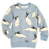 Mini Rodini Little Boy's & Boy's Rabbit-Print Sweatshirt