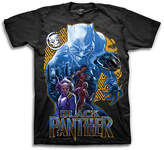 Freeze Black Panther Yellow & Black Tee - Boys