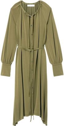 Proenza Schouler White Label Matte Jersey Long Sleeve Dress