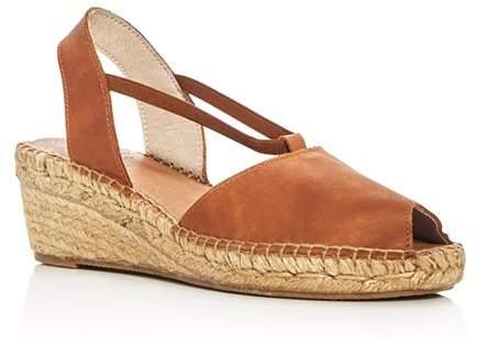 9c83a16e113 Women's Dainty Leather Slingback Espadrille Sandals