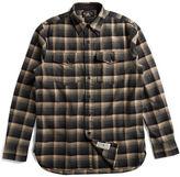 Ralph Lauren RRL Plaid Cotton-Wool Workshirt