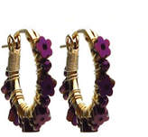 Viv&Ingrid Daisy Hoop Earrings
