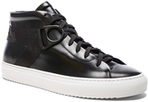 Oamc Leather Airborne Mid Sneakers