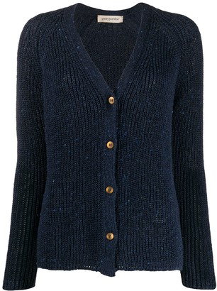 Gentry Portofino Ribbed Knit Cardigan