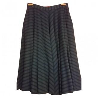 Missoni Green Wool Skirt for Women Vintage