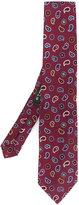 Etro paisley embroidery tie
