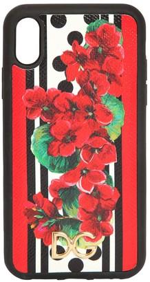Dolce & Gabbana Geranium Print I Phone Xr Cover