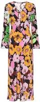 Thumbnail for your product : Rixo Rae florla silk midi dress