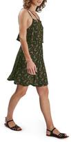 Topshop Leaf Wave Popover Dress (Petite)