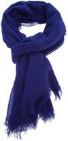 Jil Sander large tassel scarf