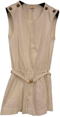 Gat Rimon White Cotton Jumpsuits
