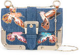 RED Valentino denim shoulder bag - women - Cotton/metal - One Size
