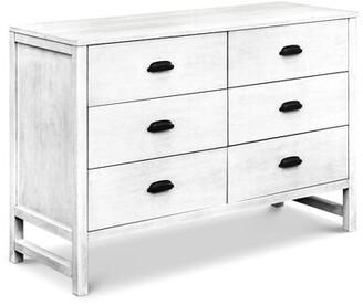 DaVinci Fairway 6 Drawer Double Dresser Color: Cottage White