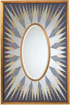 John-Richard Collection John Richard Sunna Oval Bevel Mirror