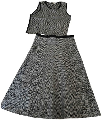 Sandro Anthracite Skirt for Women