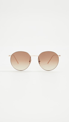 Linda Farrow Luxe Linda Farrow Classic Aviator Sunglasses