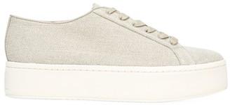 Vince Weber Canvas Flatform Sneakers