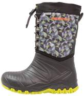 Merrell SNOW QUEST LITE WTRPF Winter boots black/green