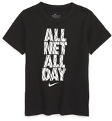 Nike Toddler Boy's All Net All Day T-Shirt