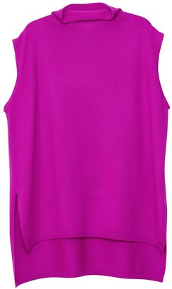 Arela Noya Cashmere Vest In Bright Pink